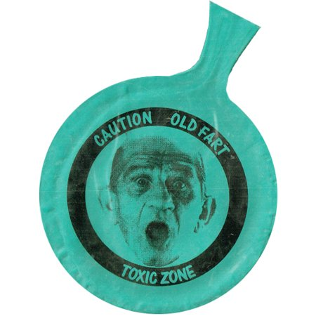 Over the Hill 'Old Fart' Mini Whoopee Cushion (1ct)](Fart Cushion)