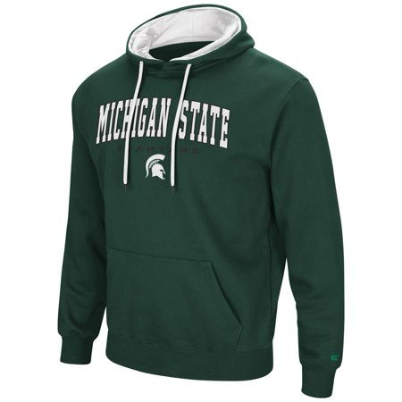 Michigan State Colors (Men's Zone III Michigan State University Hoodie Pullover)