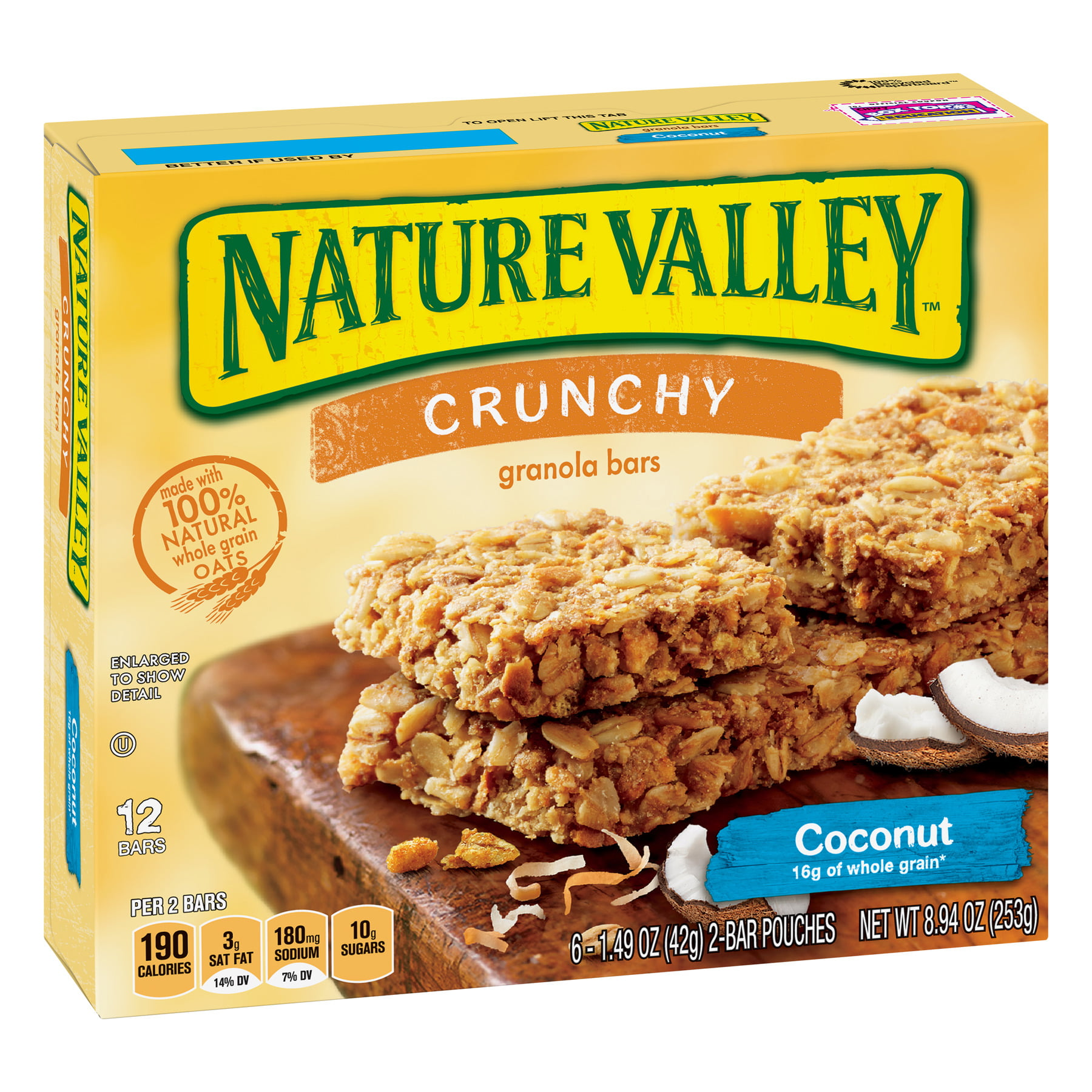 nature valley bars granola crunchy coconut oz bar walmart almond upcitemdb pouches efordcommissary upc vp variety pack salty sweet ip