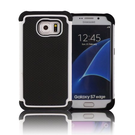 TCD Samsung S7 EDGE Executive Armor Hybrid Multi Layer Case Screen Protector