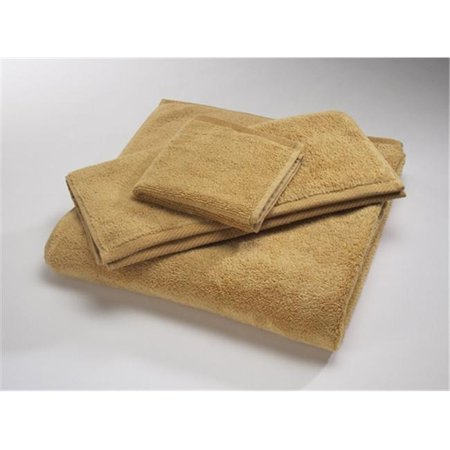 Home Source 10102TMY35 100 Percent Cotton Tub Mat - Wheat