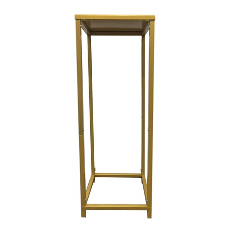- Koyal Wholesale Gold Modern Flower Stand, Metal Floral Pedestal Stand for Wedding Centerpieces