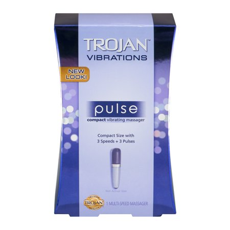 Tojan Vibrations Pulse Masseur Compact Vibrant, 1,0 CT