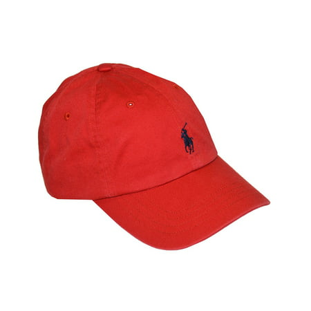 Polo Ralph Lauren Mens Embroidered Logo Ball Cap (Polo Ralph Lauren Womens Hat)