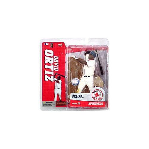 McFarlane MLB Sports Picks Series 12 David Ortiz Action Figure [White Jersey] by