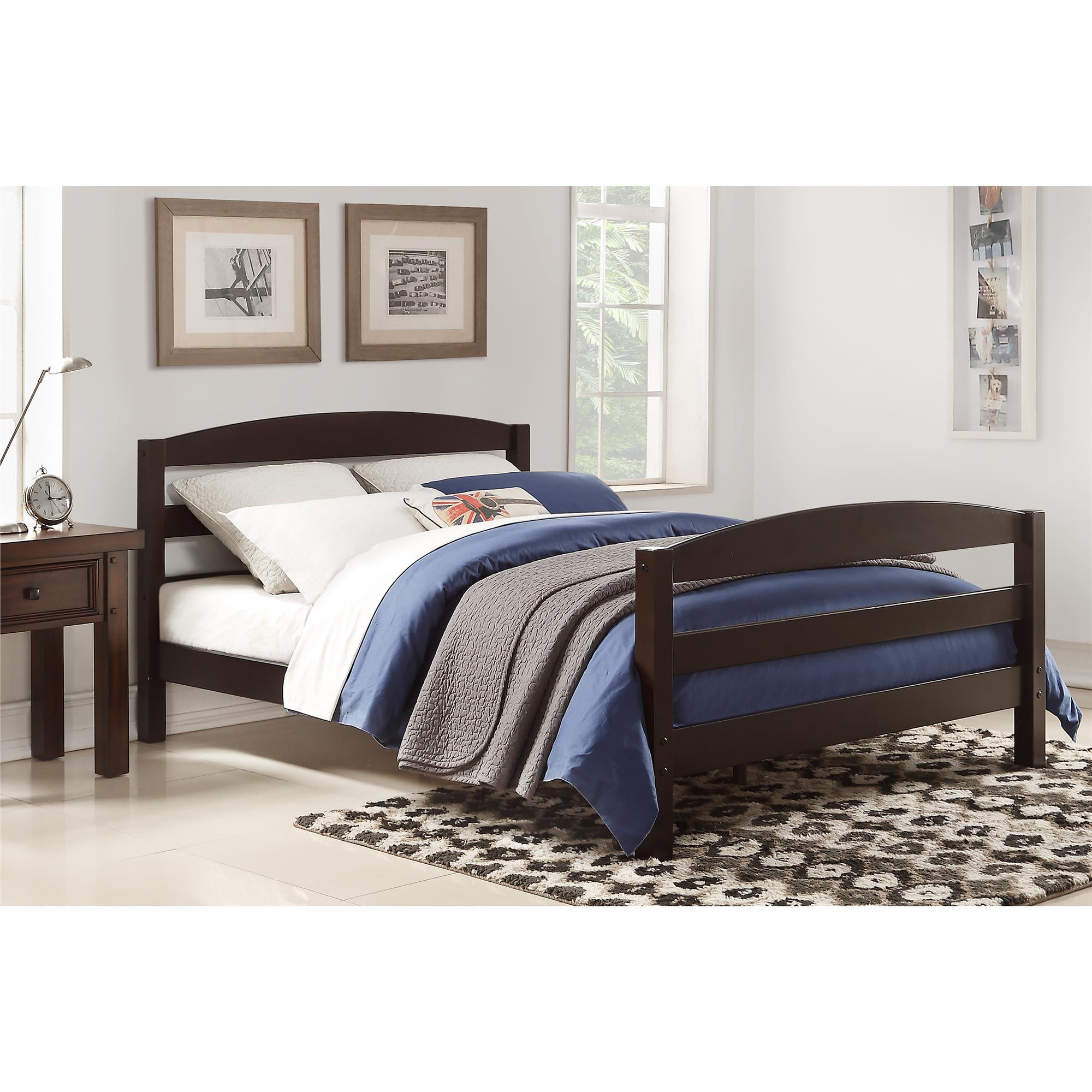 Better Homes And Gardens Wood Bed Full Size Bedroom Frame
