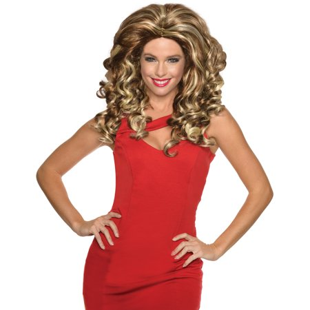 Blonde Movie Star Impersonators Drag Queen Rupaul Big Hair Wig - Drag Halloween