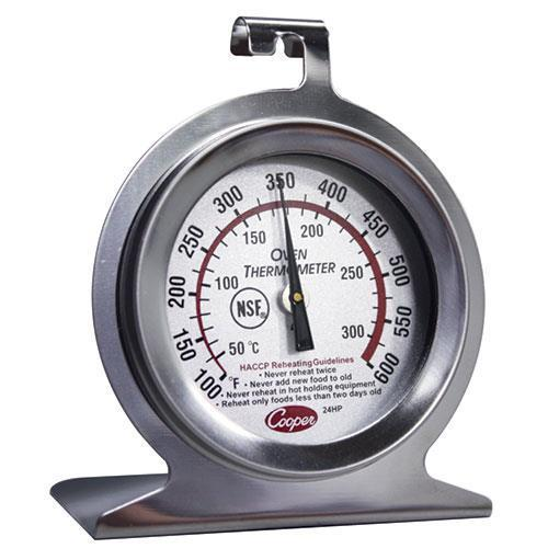 24HP-01-1 Dial Oven Thermometer +100 degrees F to +600 degrees F Range 1 Each by