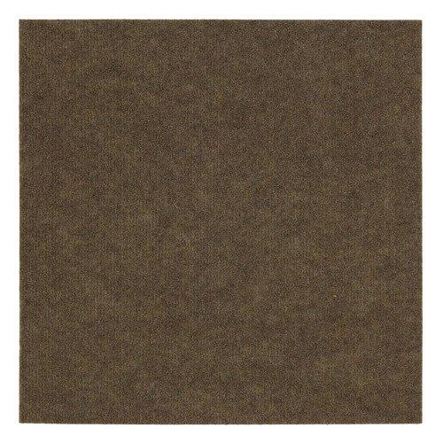 Mohawk Flooring Ribbed 18'' x 18'' Carpet Tile in Bark (Set of 16)