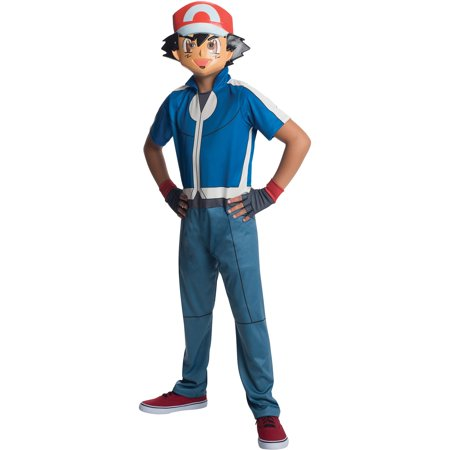 Pokemon Ash Child Costume - Ash Pokemon Trainer Costume