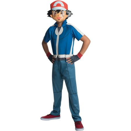 Pokemon Ash Child Costume