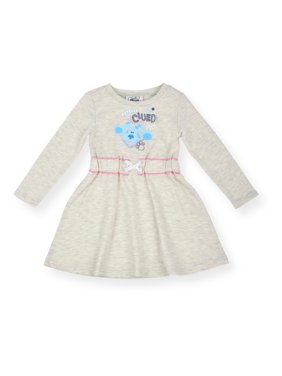 Blues Clues Toddler Girl Long Sleeve Dress