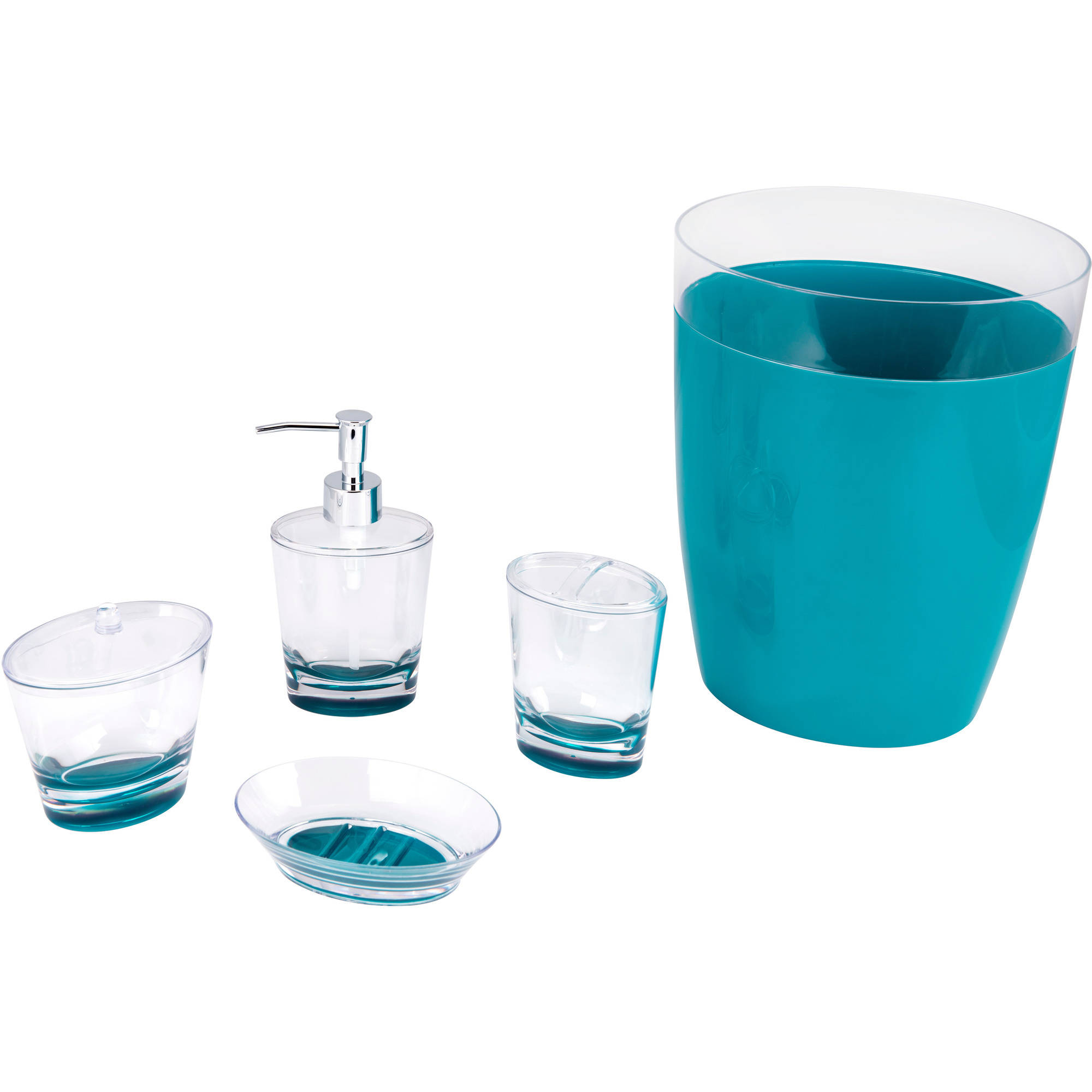 Aqua colored bathroom accessories my web value for Aqua colored bathroom accessories