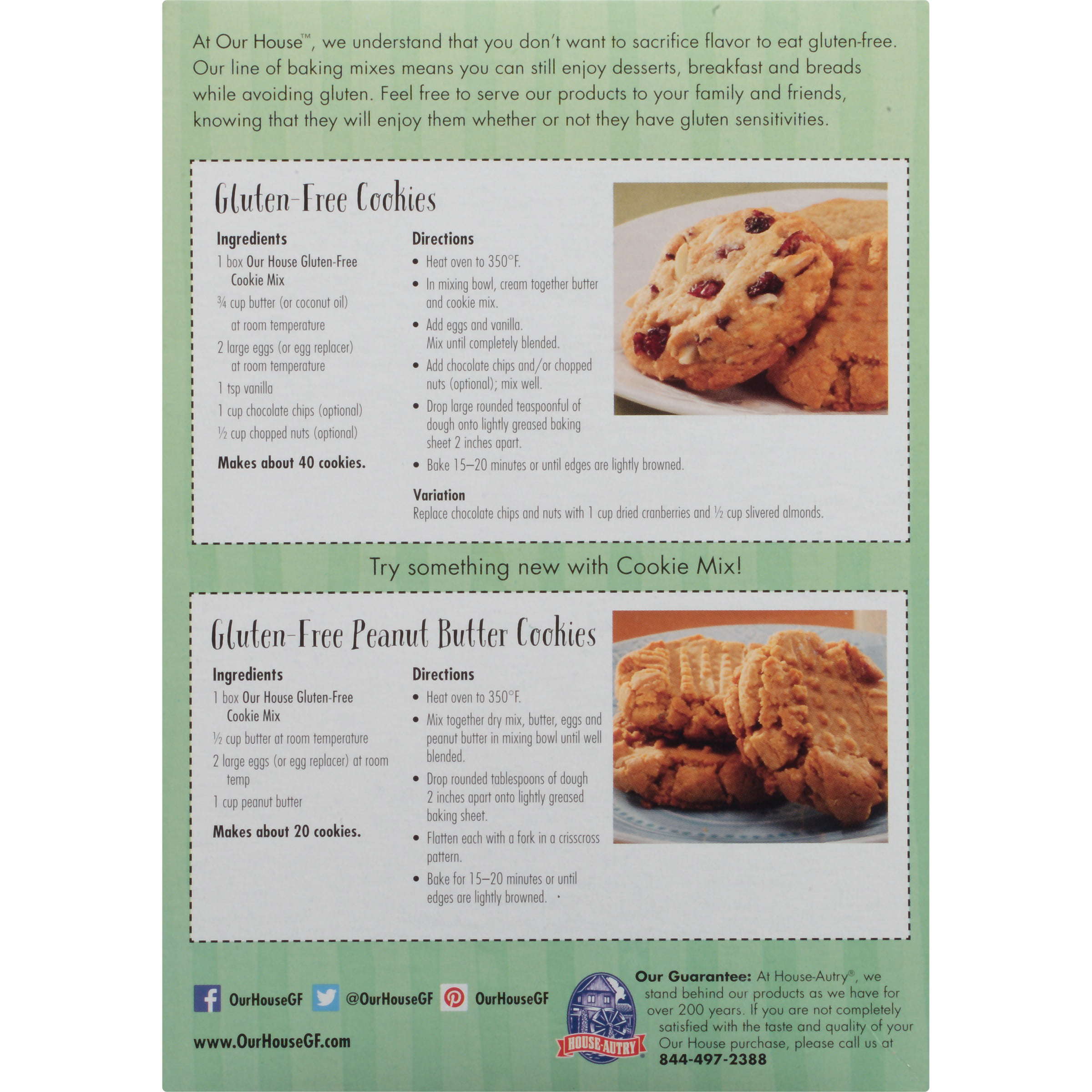 Our House™ Cookie Mix 16 oz. Box - Walmart.com