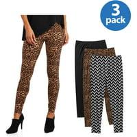 3-Pack Allison Brittney Womens Legging