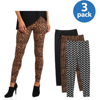 3-Pack Allison Brittney Womens Legging