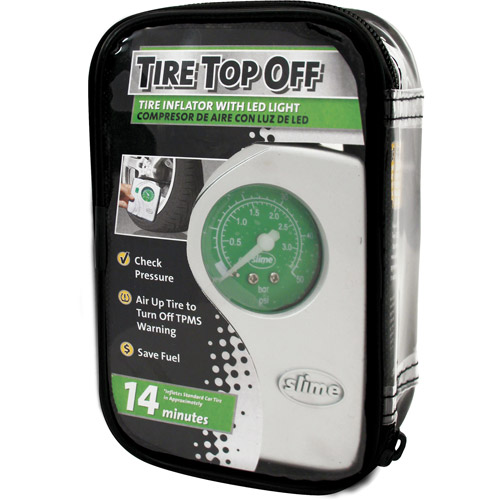 Slime Tire Top Off Inflator with Light – 40020