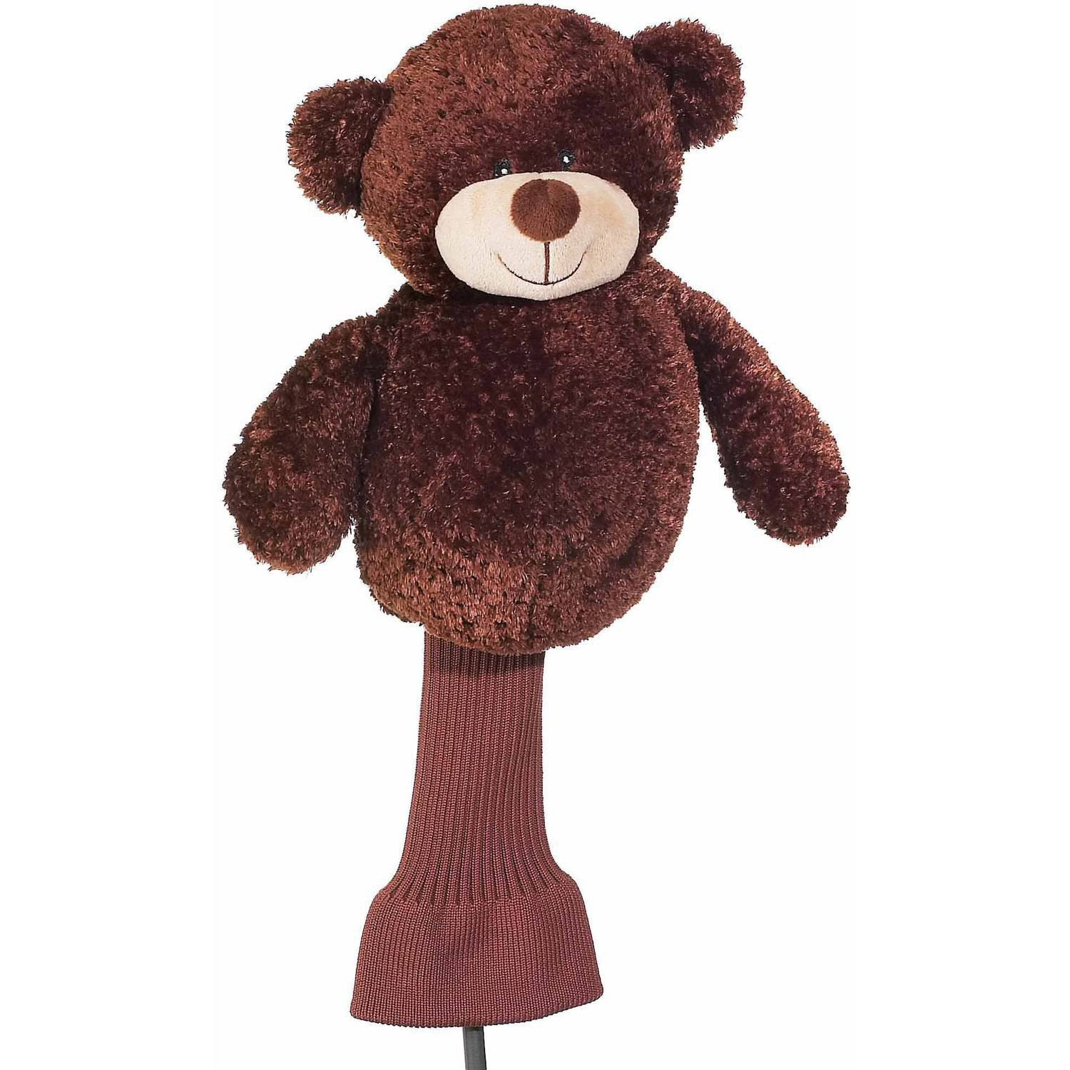 "Creative Covers For Golf Cuddle Pals ""Backspin"" The Bear Driver Headcover"