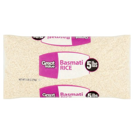 Great Value Basmati Rice  5 Lb