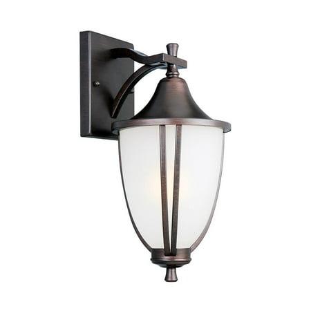 "Design House 517797 Ironwood Outdoor Downlight 8.4"", Brushed Bronze"