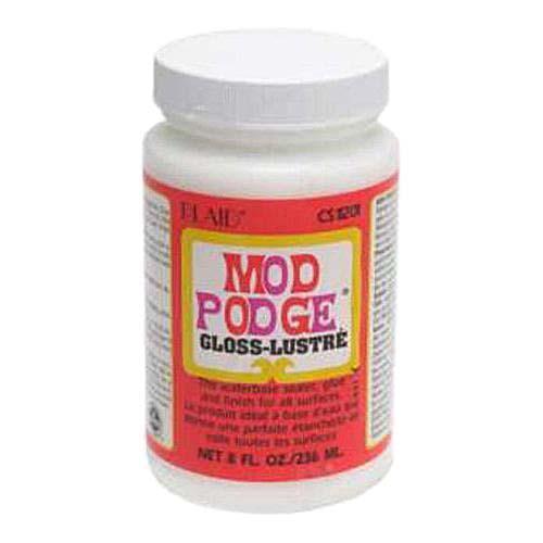 Mod Podge Gloss All-In-One Decoupage Sealer / Glue / Finish (8 fl. oz. )