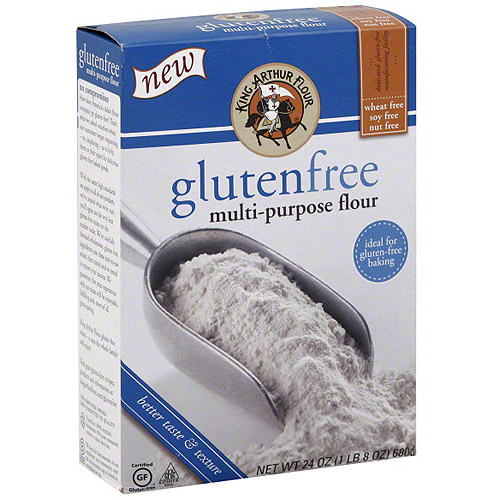 King Arthur Flour Gluten Free Multi-Purpose Flour, 24 oz (Pack of 6)