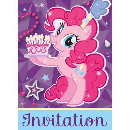 My Little Pony 30339110 Party Invitations
