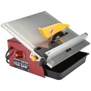 Best Wet Tile Saws - 7 in. Portable Wet Cutting Tile Saw Review