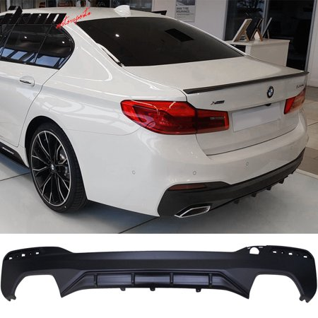 Fits 17-19 BMW 5 Series G30 G32 MP Style Type 1 M Sport Rear Bumper Diffuser