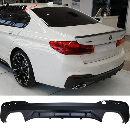 Fits 17-19 BMW 5 Series G30 G32 MP Style Type 1 M Sport Rear Bumper (Type 1 Rear Bumper)