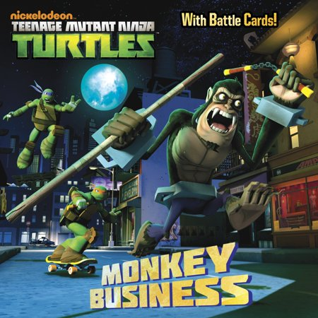Monkey Business (Teenage Mutant Ninja Turtles)](Ninja Monkey Bones)