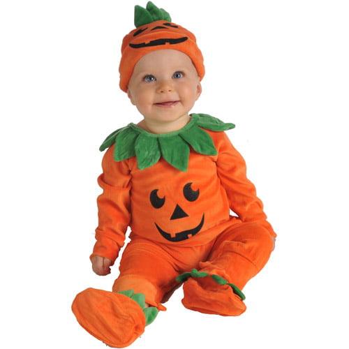 pumpkin infant halloween costume walmartcom