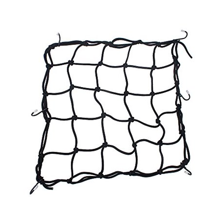 Heavy-Duty 15' Cargo Net for Motorcycles, ATVs - Stretches to 30' ()