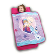 Disney Frozen Elsa, Anna and Olaf Sisterly Love Toddler Nap Mat