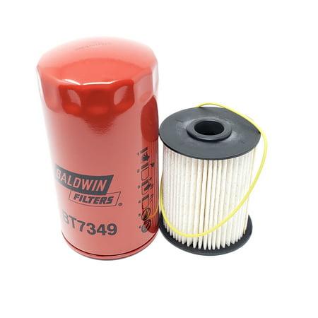 Donaldson P550785 (Fuel) - BT7349 (Lube) Filters Dodge Ram 5.9 Diesel 2000-01