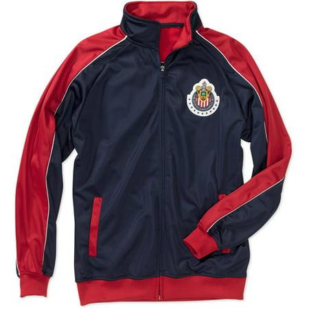 751a2c12b380 Soccer - Men s Chivas Track Jacket - Away - Walmart.com