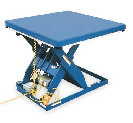 Scissor Lift Table,4000 lb.,460V,3 Phase G9903564 by VALUE BRAND