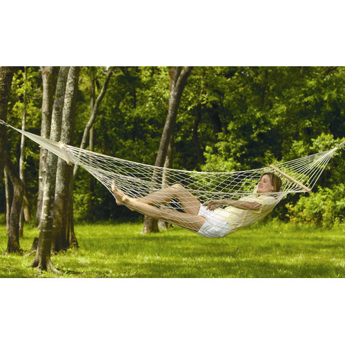 Texsport Padre Island Rope Cotton Tree Hammock