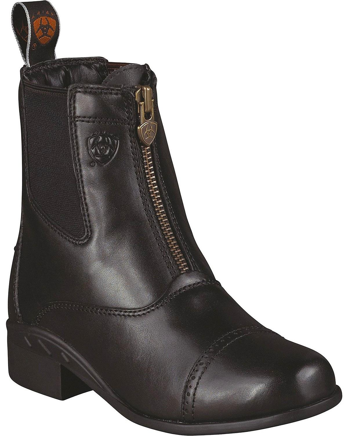 Ariat Boys' Devon Ankle Riding Boot 10001835 by Ariat