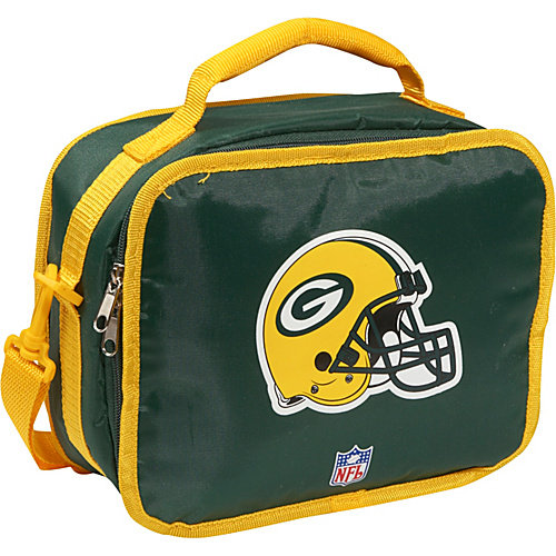 Concept One Green Bay Packers Team Color Lunch Box