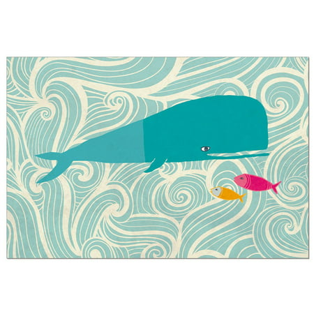 - Tree-Free Greetings Whale of a Time Boxed ECOnotes Blank Note Cards-FS56236