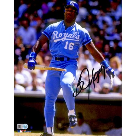 Bo Jackson Kansas City Royals Autographed 8