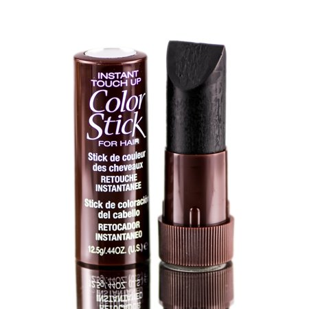 Cover Your Gray Color Stick Instant Hair Color Touch-Up - Color: Black - Halloween Black Hair Dye Temporary