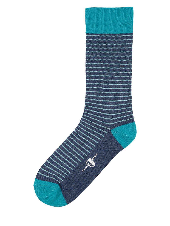 Julien Striped Crew Socks