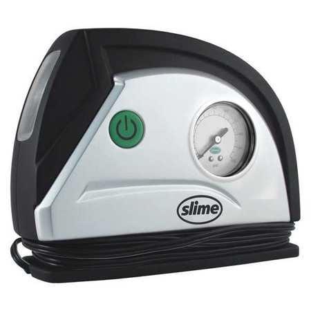 SLIME COMP03 12V Tire Inflator w/ Gauge and Light