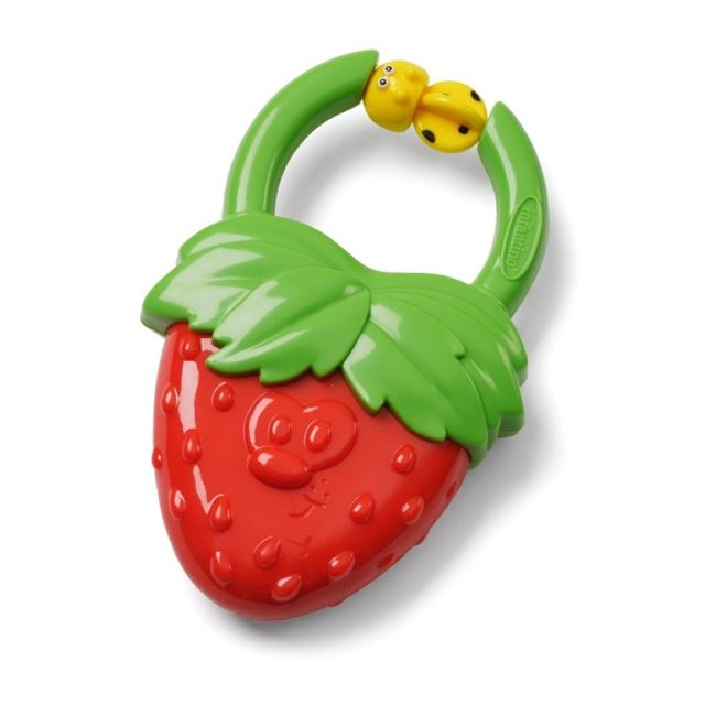 Infantino Vibrating Teether - Strawberry or Grape - Assort.