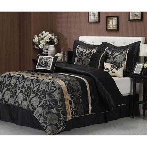 Mollybee 7 Piece Bedding Comforter Set Walmart Com