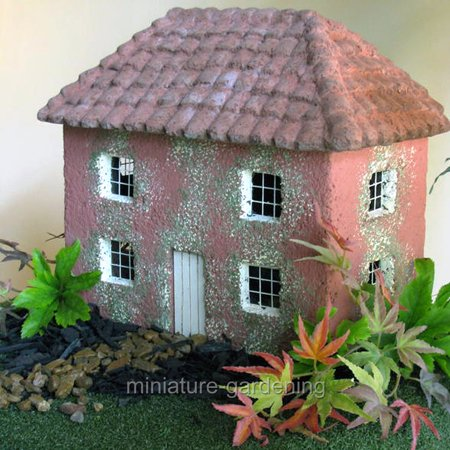 The Brookfield Co  Miniature Fairy Garden Jasmine Cottage