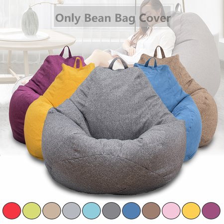 Kadell 31.5'' x 35.4'' Large Bean Bag Chairs Couch Sofa Only Cover Indoor Lazy Lounger Adults Kids (No Filler) (Bean Bag Filled Pillows)