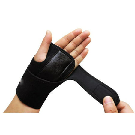 1 Pcs Carpal Tunnel Wrist Splint Removable Hand Support Brace Adjustable Strap for Arthritis Sprains Strains ()